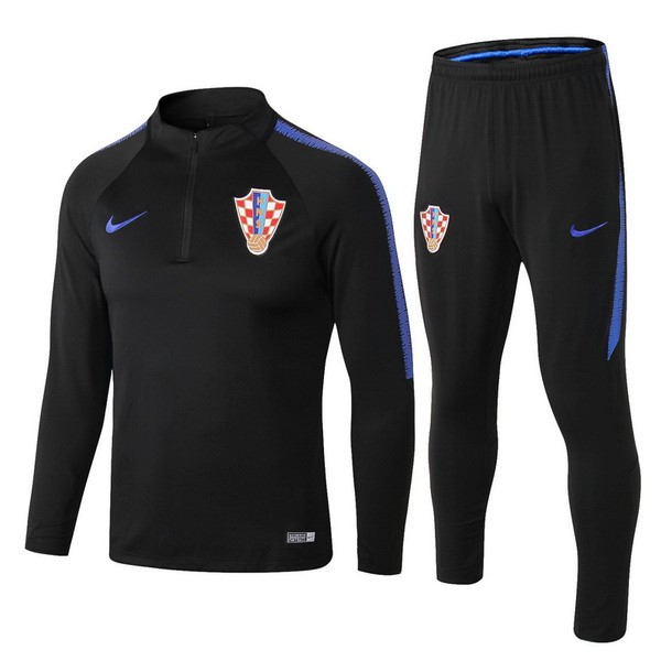 Chandal Croacia 2018 Negro